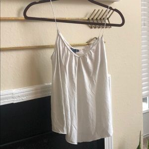 American Eagle Outfitters dressy white tank top!